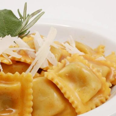 Agnolotti in salsa di arrosto - Flunch Italia