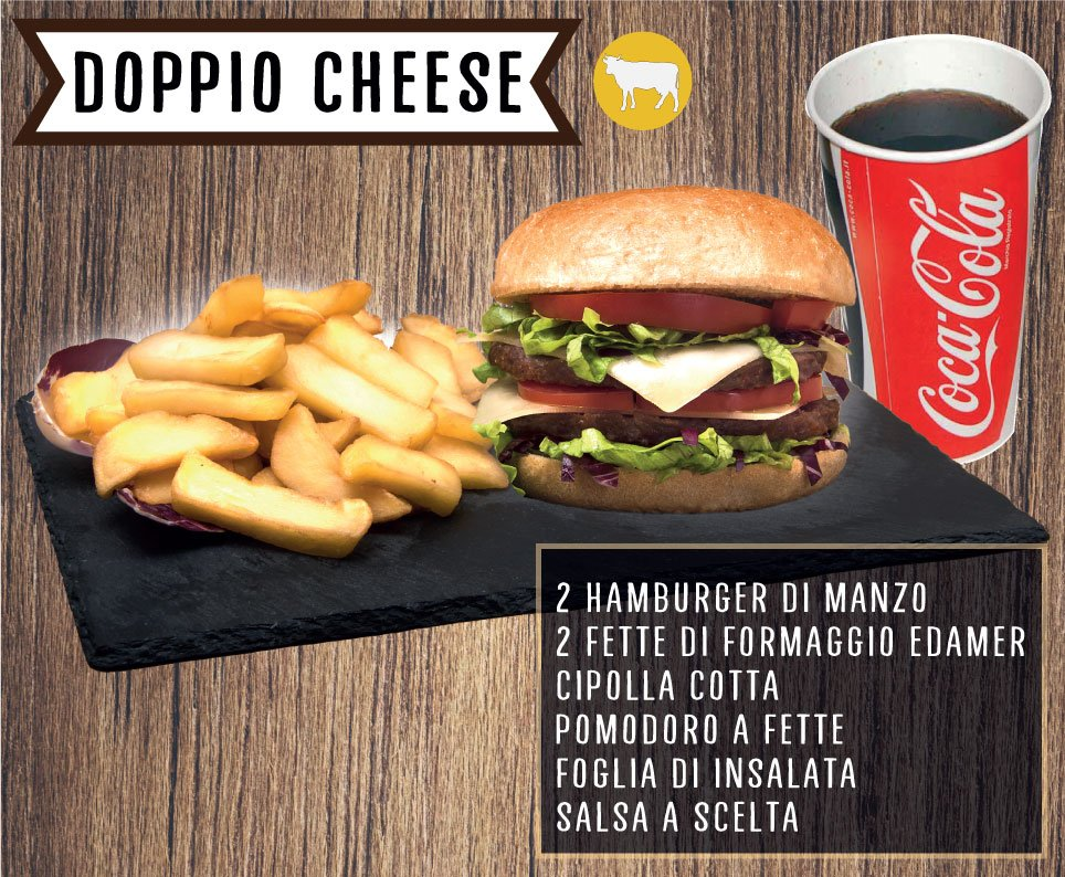 Burger Doppio-Cheese