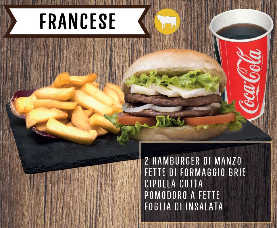 Burger Francese