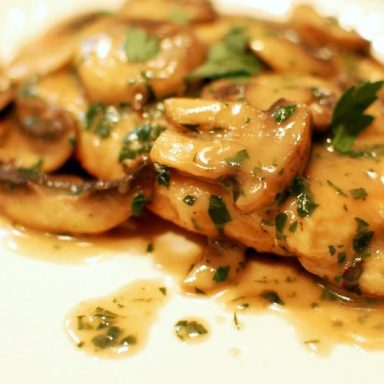 Scaloppine ai Funghi Flunch